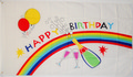 Flagge Happy Birthday  (150 x 90 cm) kaufen bestellen Shop