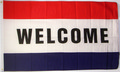 Welcome-Flagge (150 x 90 cm) kaufen