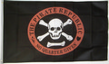 Flagge The Pirate Republic -  No Quarter Given  (150 x 90 cm) kaufen bestellen Shop