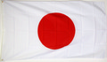 "Bild der Flagge ""Nationalflagge Japan (90 x 60 cm)"""