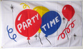 Flagge Party Time  (150 x 90 cm) kaufen bestellen Shop