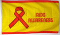 Flagge Aids Awareness (150 x 90 cm) kaufen