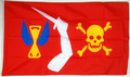 Christopher Moodys Piratenflagge / Red Jolly Roger  (150 x 90 cm) kaufen bestellen Shop