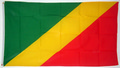 "Bild der Flagge ""Nationalflagge Kongo, Republik (150 x 90 cm)"""