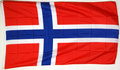 "Bild der Flagge ""Nationalflagge Norwegen(250 x 150 cm)"""