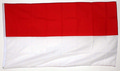 "Bild der Flagge ""Nationalflagge Indonesien (150 x 90 cm)"""