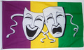 Flagge Comedy and Tragedy (150 x 90 cm) kaufen
