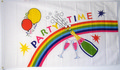 "Bild der Flagge ""Party Time"""