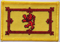 Aufn�her Flagge Schottischer L�we /  Royal Banner of Scotland  (8,5 x 5,5 cm) kaufen bestellen Shop