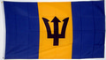 "Bild der Flagge ""Nationalflagge Barbados"""