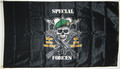 Flagge Special Forces - Mess With The Best, Die Like The Rest (90 x 60 cm) kaufen