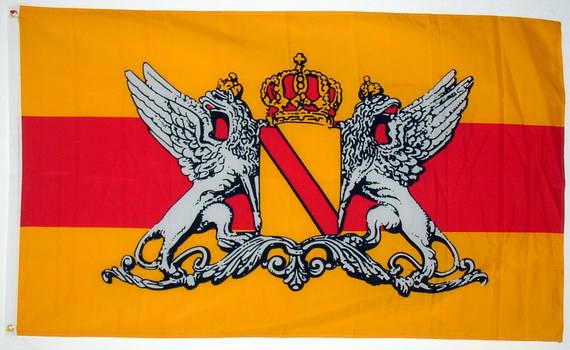 Tischfahne Großherzogtum Baden 10 x 15 cm Fahne Flagge