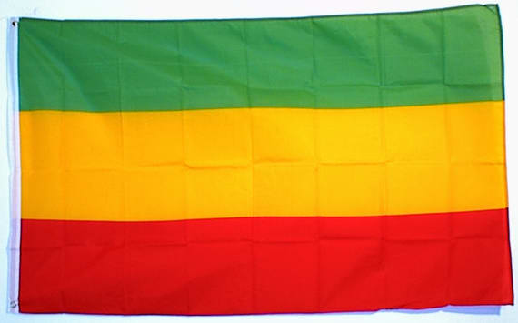 Fahne Flagge /Äthiopien 30 x45 cm