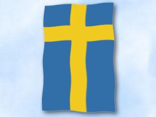 flagge schweden im hochformat glanzpolyester fahne flagge schweden im hochformat. Black Bedroom Furniture Sets. Home Design Ideas