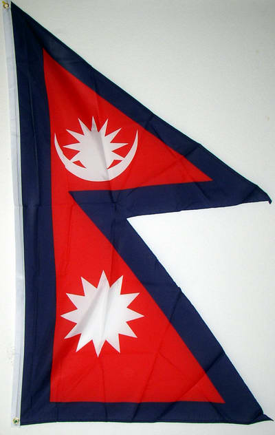 nationalflagge nepal