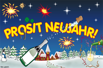 Bilder Prosit Neujahr