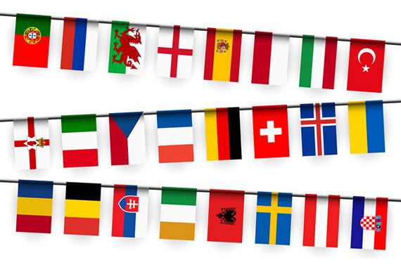 300  x  500 cm Fahnen Flagge Italien Supergroß