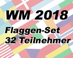 Wm 2018 Russland Flaggen Set M Fahne Wm 2018 Russland