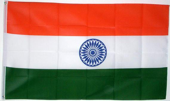 Flagge Indien Fahne Indien Nationalflagge Flaggen Und Fahnen Kaufen