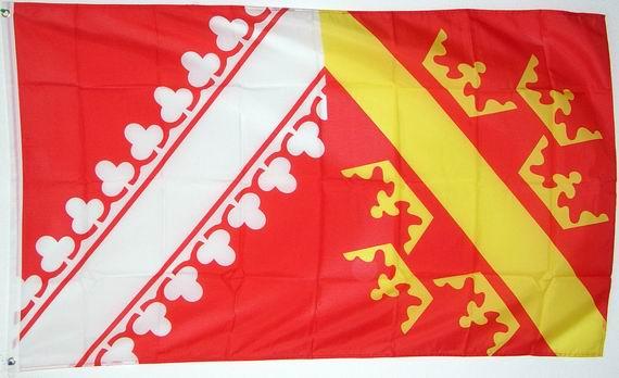 Fahne Frankreich Region Elsass Flagge französische Hissflagge 90x150cm