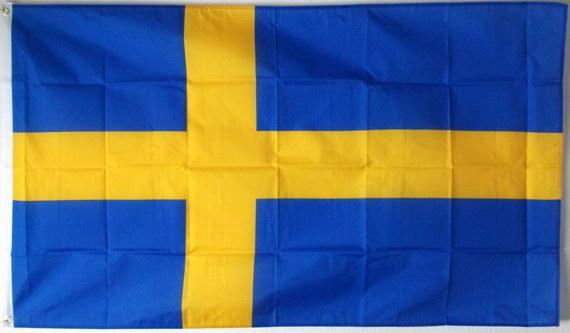 flagge schweden fahne schweden nationalflagge flaggen und fahnen kaufen im shop bestellen. Black Bedroom Furniture Sets. Home Design Ideas
