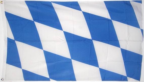 Bild von Landesfahne Bayern