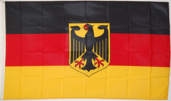 flagge deutschland mit wappen hnl bundesdienstflagge. Black Bedroom Furniture Sets. Home Design Ideas